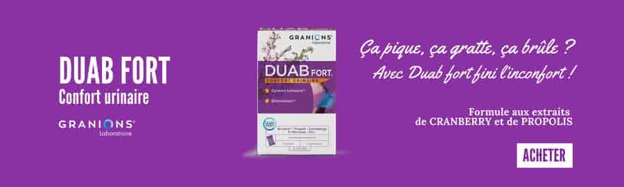 Duab fort, traitement naturel contre les infections urinaires